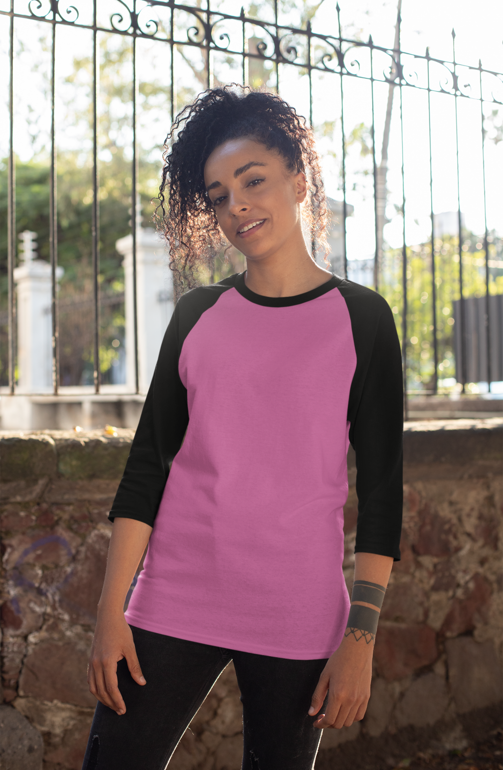 mockup-of-a-curly-haired-woman-wearing-a-raglan-three-quarters-sleeve-tee-30236 (1)