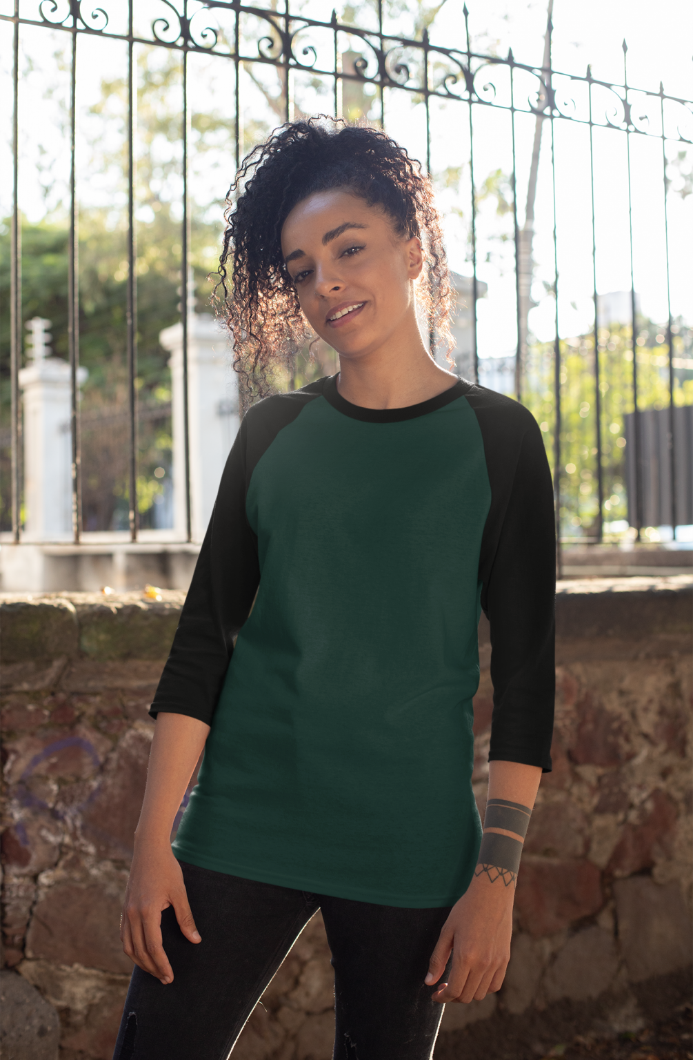 mockup-of-a-curly-haired-woman-wearing-a-raglan-three-quarters-sleeve-tee-30236 (2)